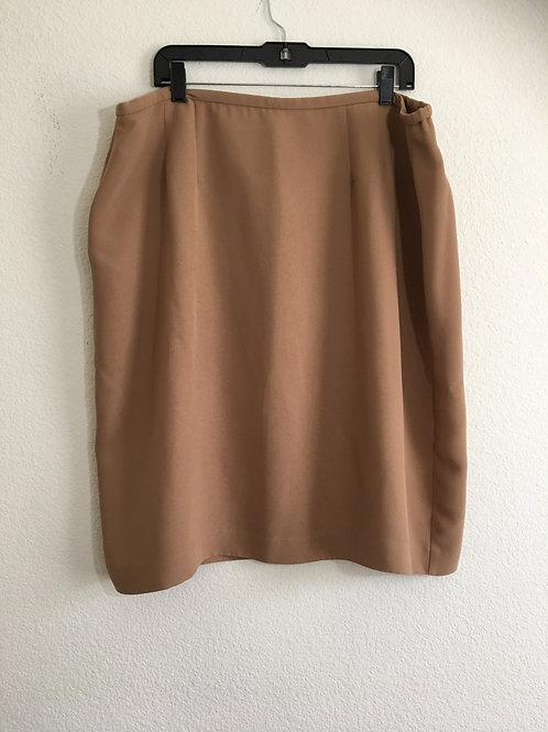 Ashley Stewart Brown Skirt - Size 18