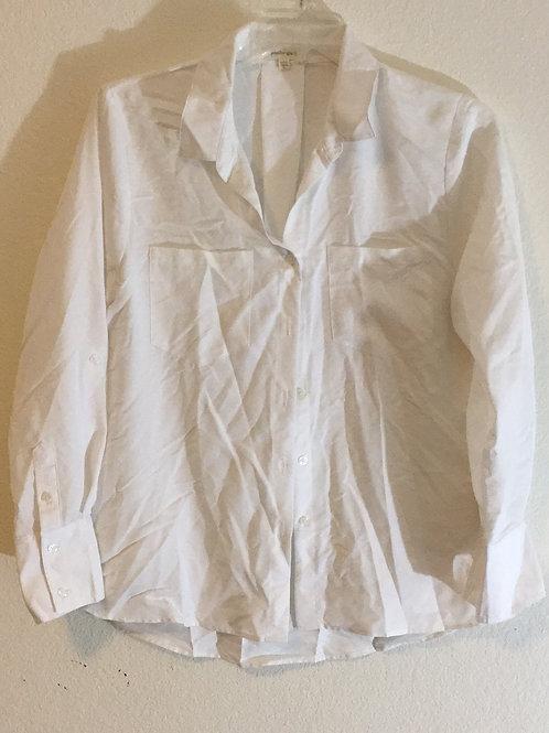 Jennifer & Grace White Shirt - Size Large