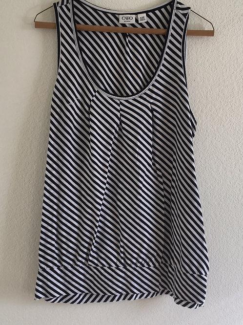 Cato Black & White Shirt - 14/16