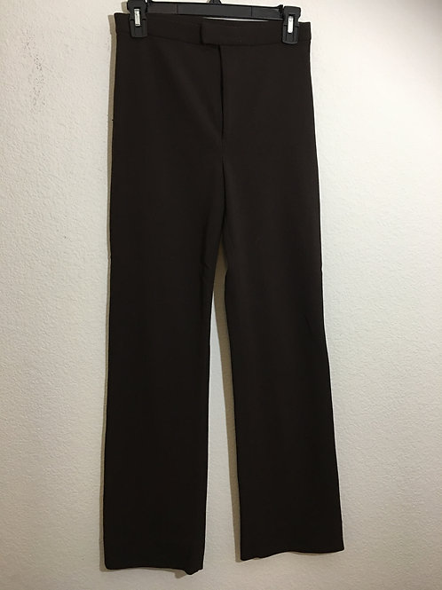 DKNY Classic Brown Pants Size 4