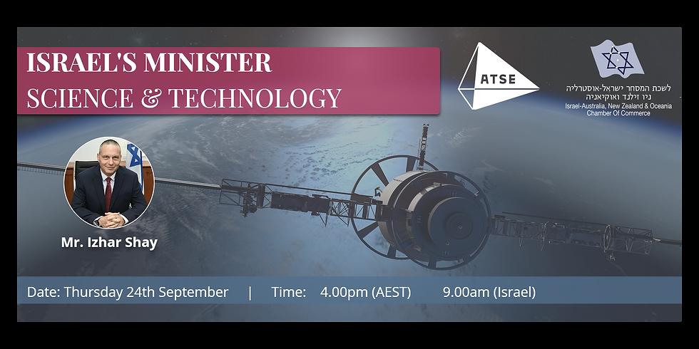IACC-ATSE Minister of Science & Technology Webinar