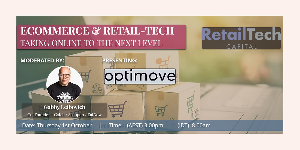 Ecommerce & Retail Tech Webinar