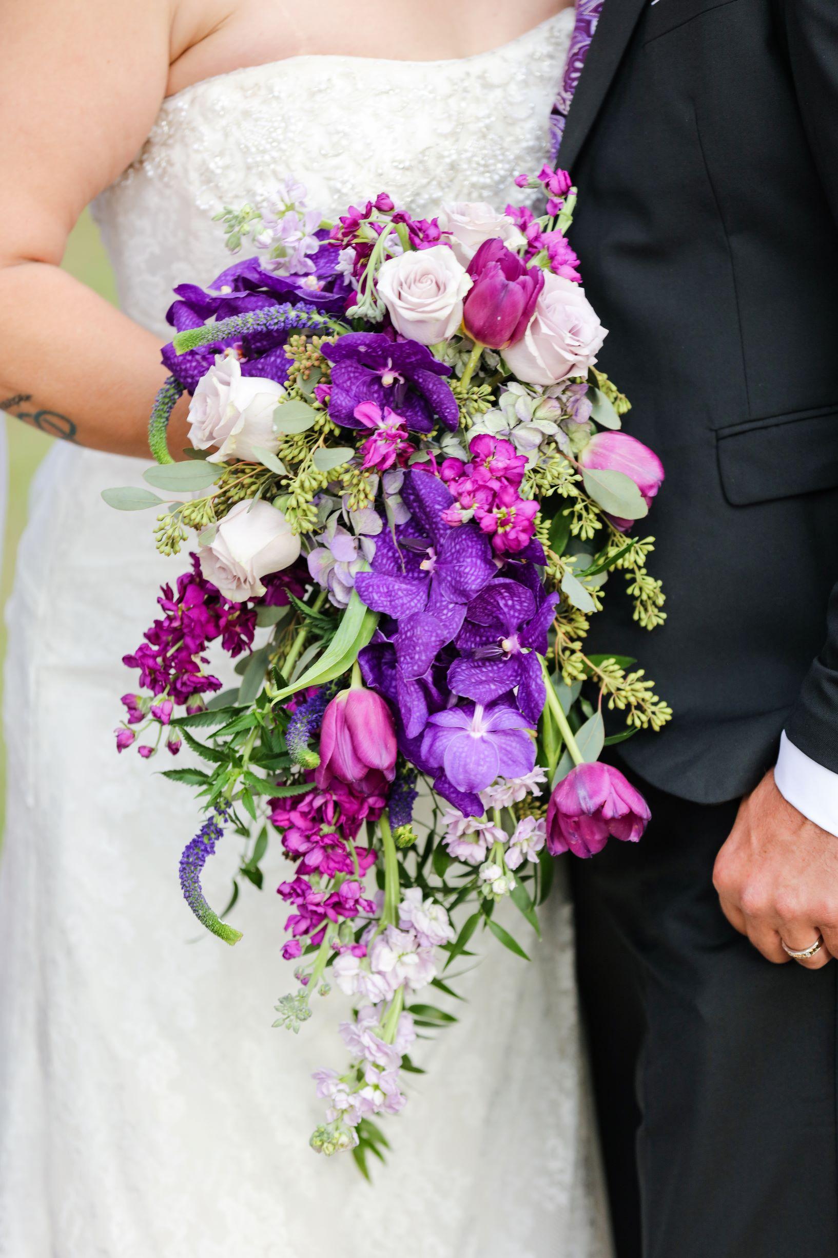 Shades of Purple Cascade