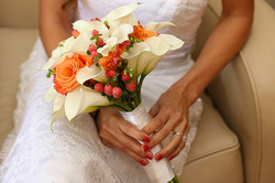 Callas and Accents Bouquet