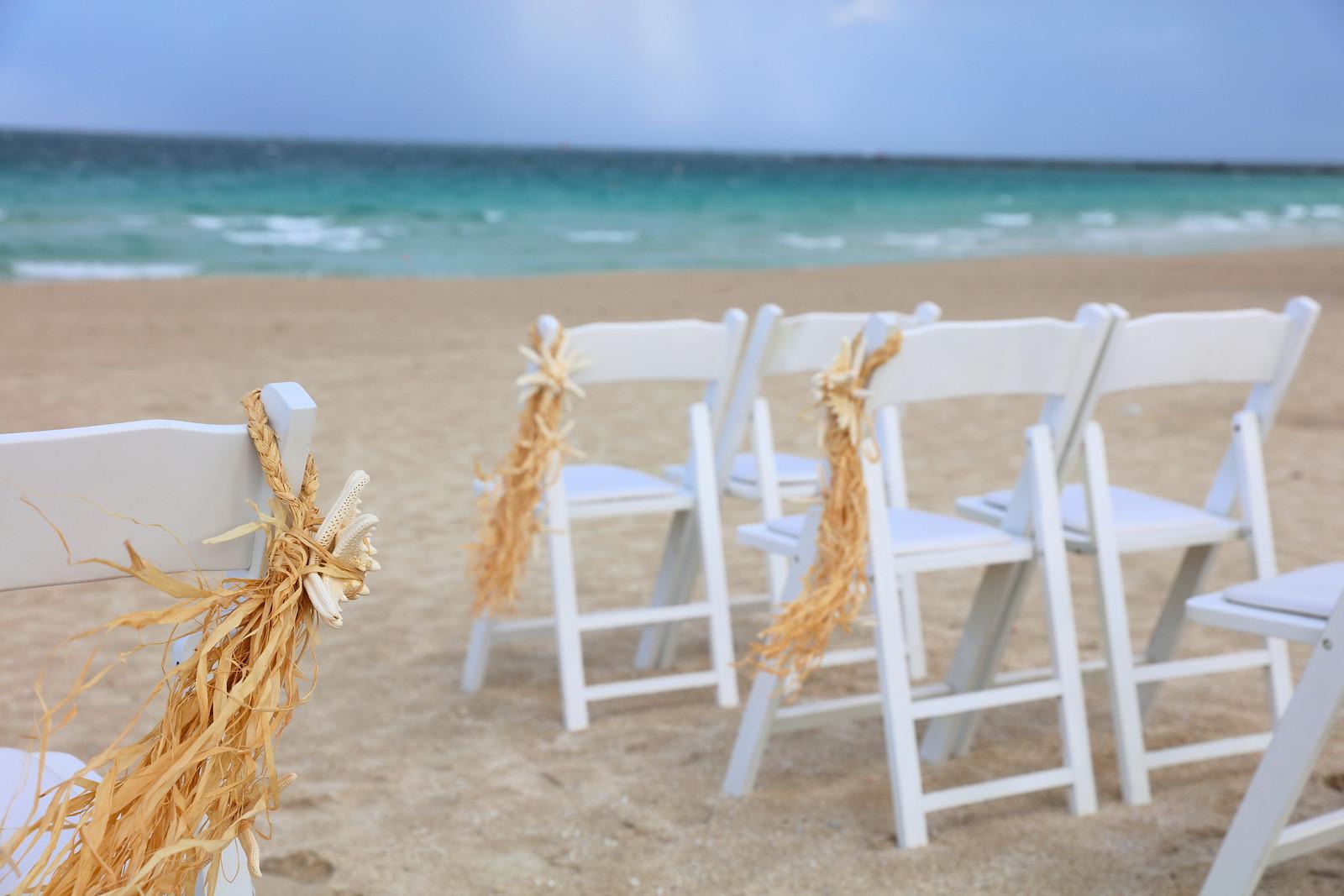 Raffia Chair Markers