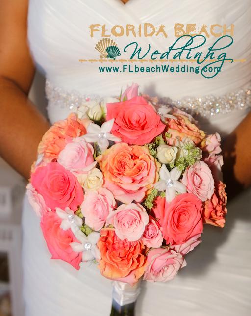 Coral Sensation Bouquet