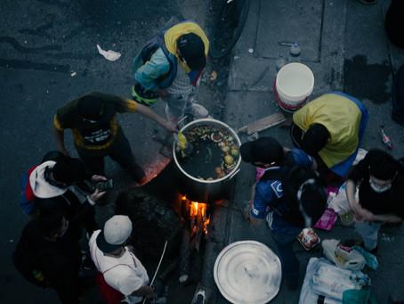 La gastronomía, como forma de manifestación pacífica