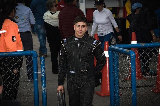 Nicolás Castillo, joven promesa del automovilismo colombiano