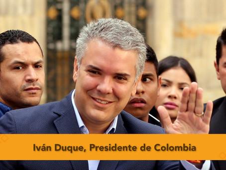 Duque, el elegido para dirigir la Colombia del posconflicto