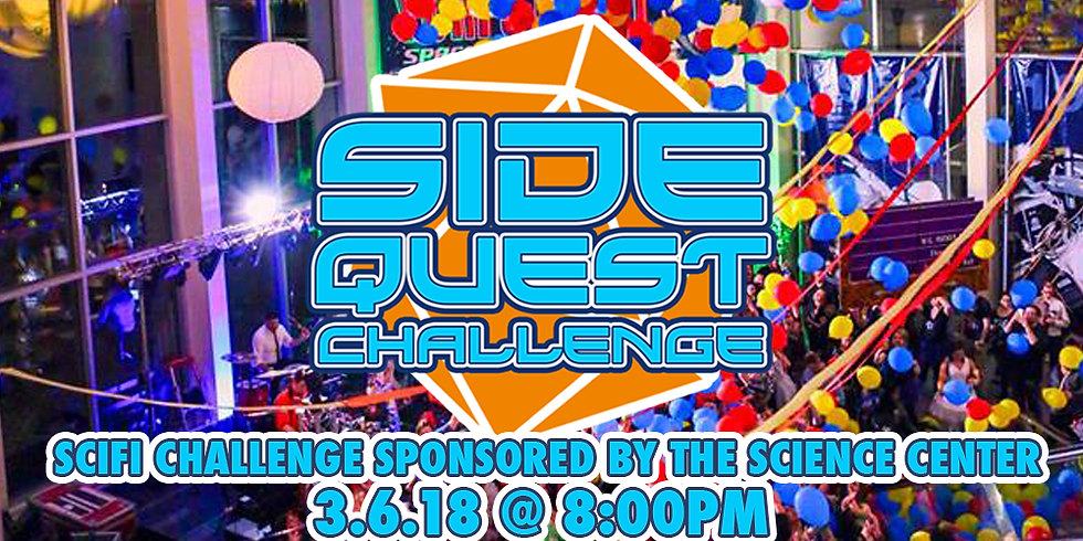 Side Quest Challenge: SciFi with Great Lakes Science Center