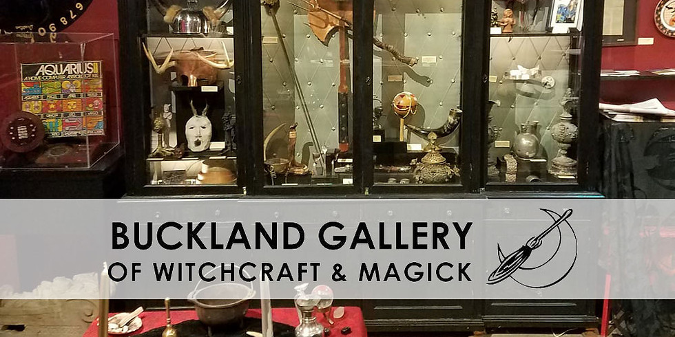 Lecture & Learning: Witchcraft & Magick with Buckland Gallery