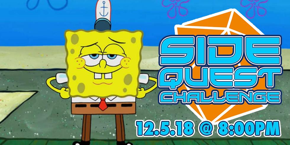Side Quest Challenge: Sponge Bob