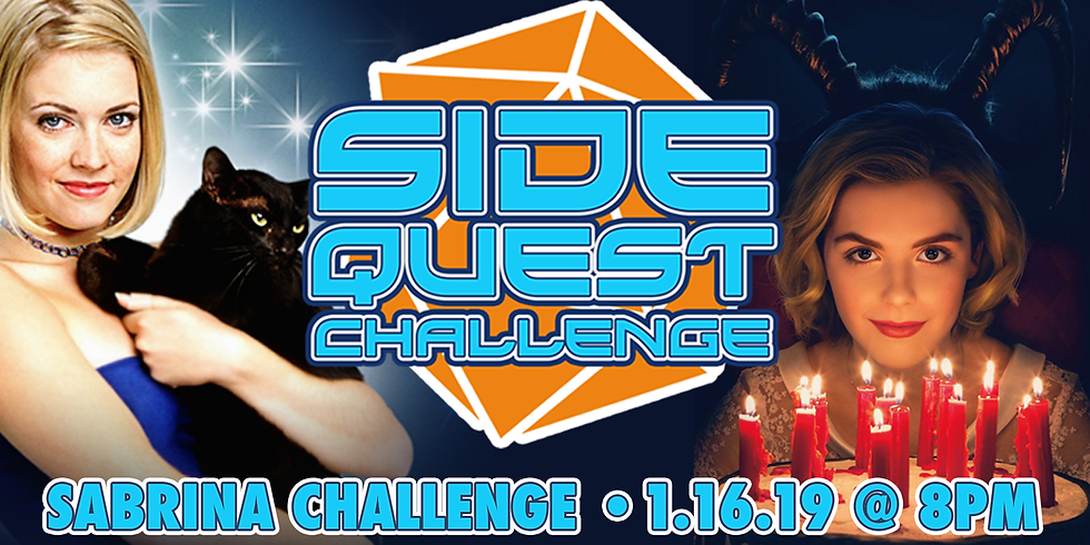 Side Quest Challenge: Sabrina