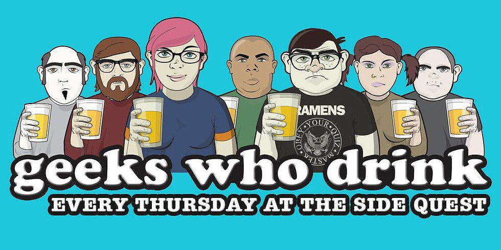 Geeks Who Drink Pub Quiz at The Side Quest