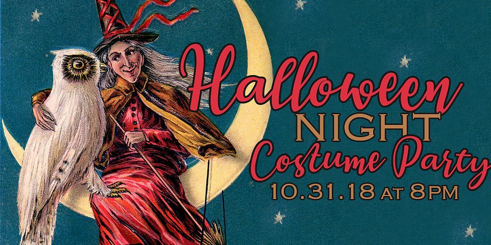 Halloween Night Costume Party