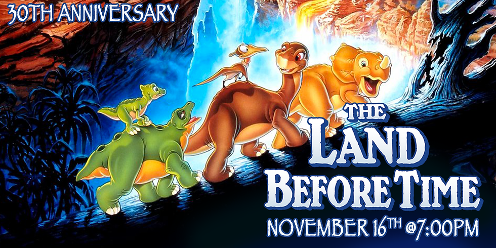 Land Before Time 30th Anniversary