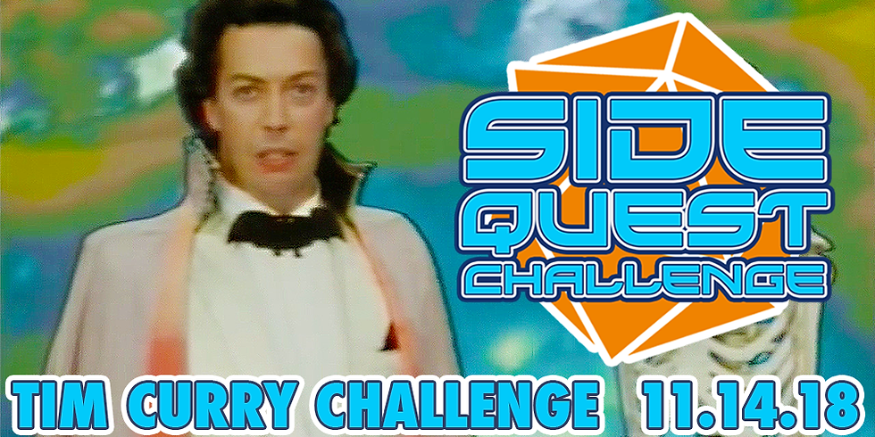 Side Quest Challenge: Tim Curry
