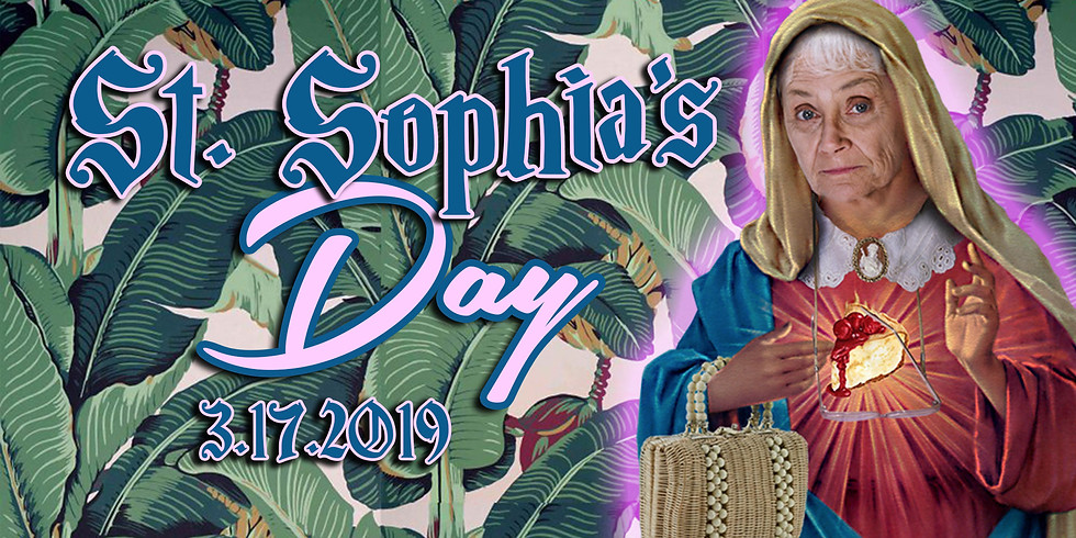 St. Sophia Day: A Golden Girls Party