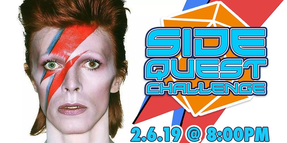 Side Quest Challenge: David Bowie