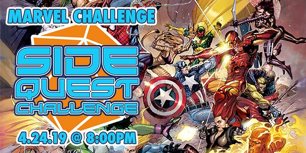 Side Quest Challenge: Marvel