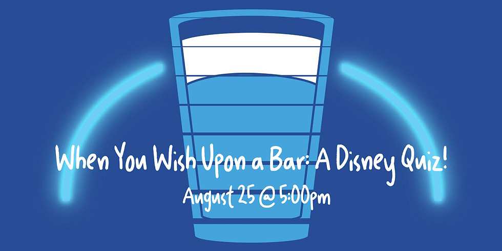 Geeks Who Drink Present: A Disney Quiz!