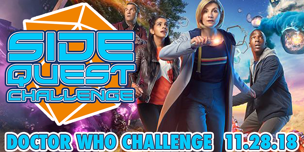 Side Quest Challenge: Doctor Who