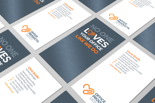 Office Products Depot business cards
