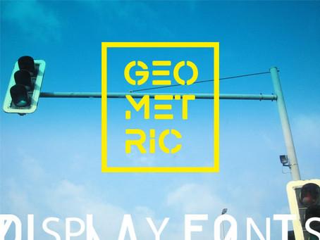 35 Amazing FREE Geometric Display Fonts