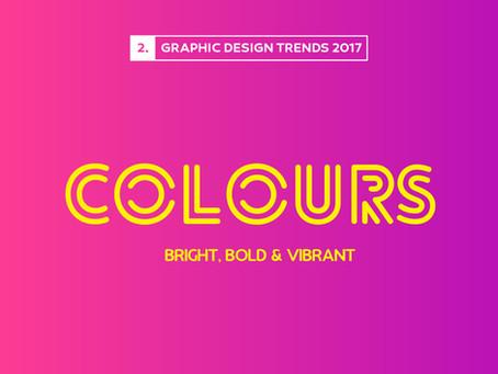 Design Trends 2017: Bright & Bold Colours