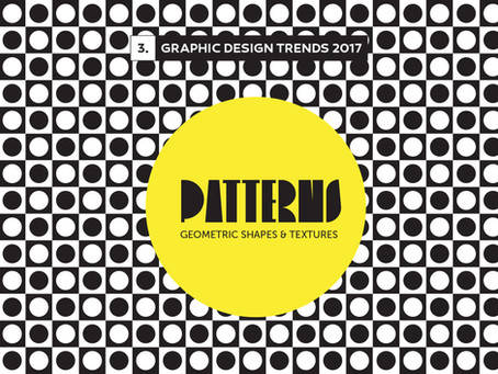 Design Trends 2017: Patterns & Textures