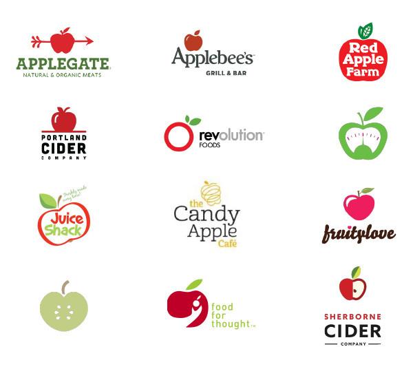 logos with an apple