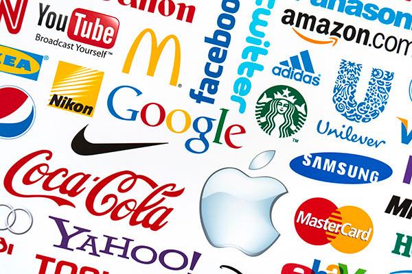 many logos trademarks
