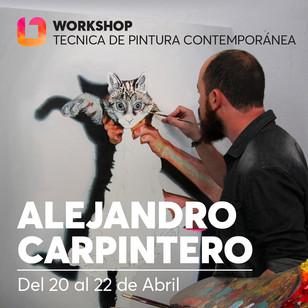 iONA School of Art workshops social media banner design - Alejandro Carpintero