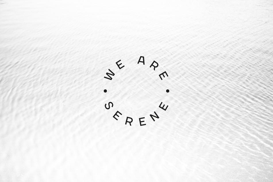 We are Serene circle logo design