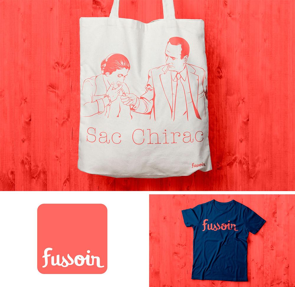 Identity design for Fussoir