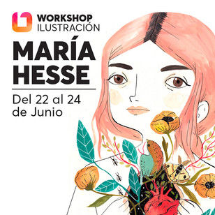 iONA School of Art workshops social media banner design - Maria Hesse