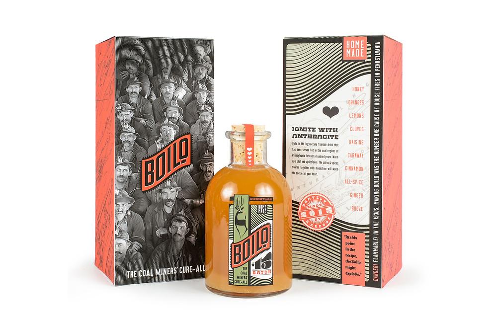 Boilo packaging design