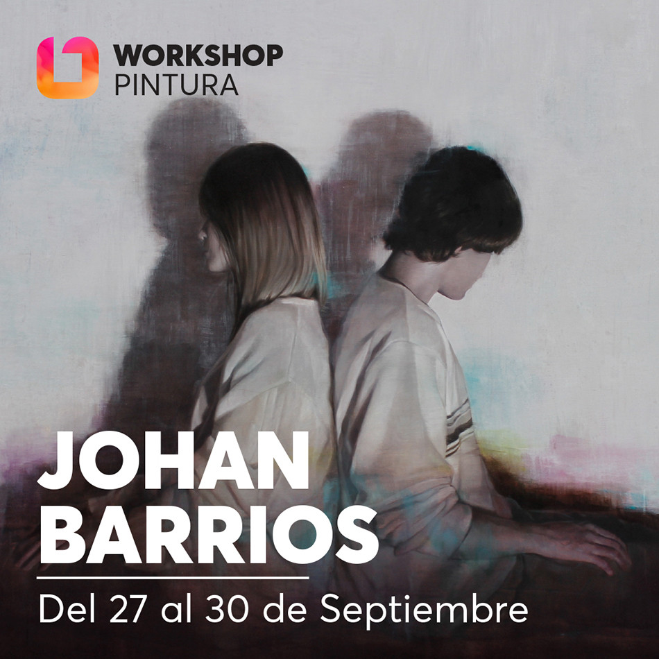 iONA School of Art workshops social media banner design - Johan Barrios