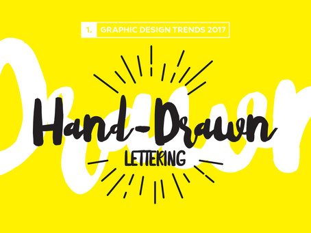 Design Trends 2017: Hand-Drawn Lettering