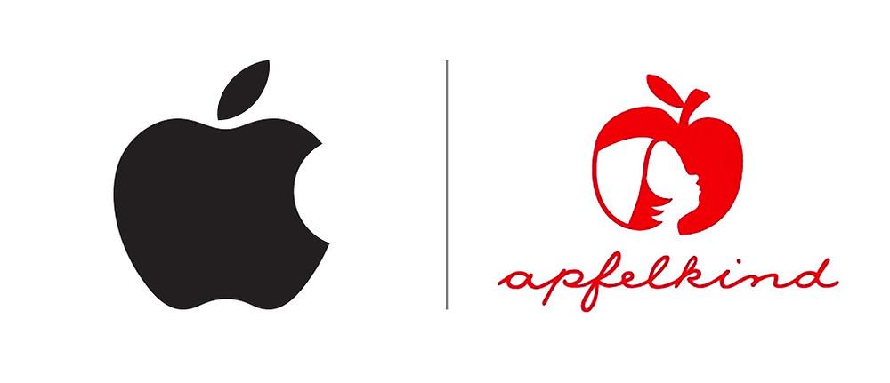 Apple vs Apfelkind