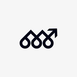 Life Coaching arrow logo icon design