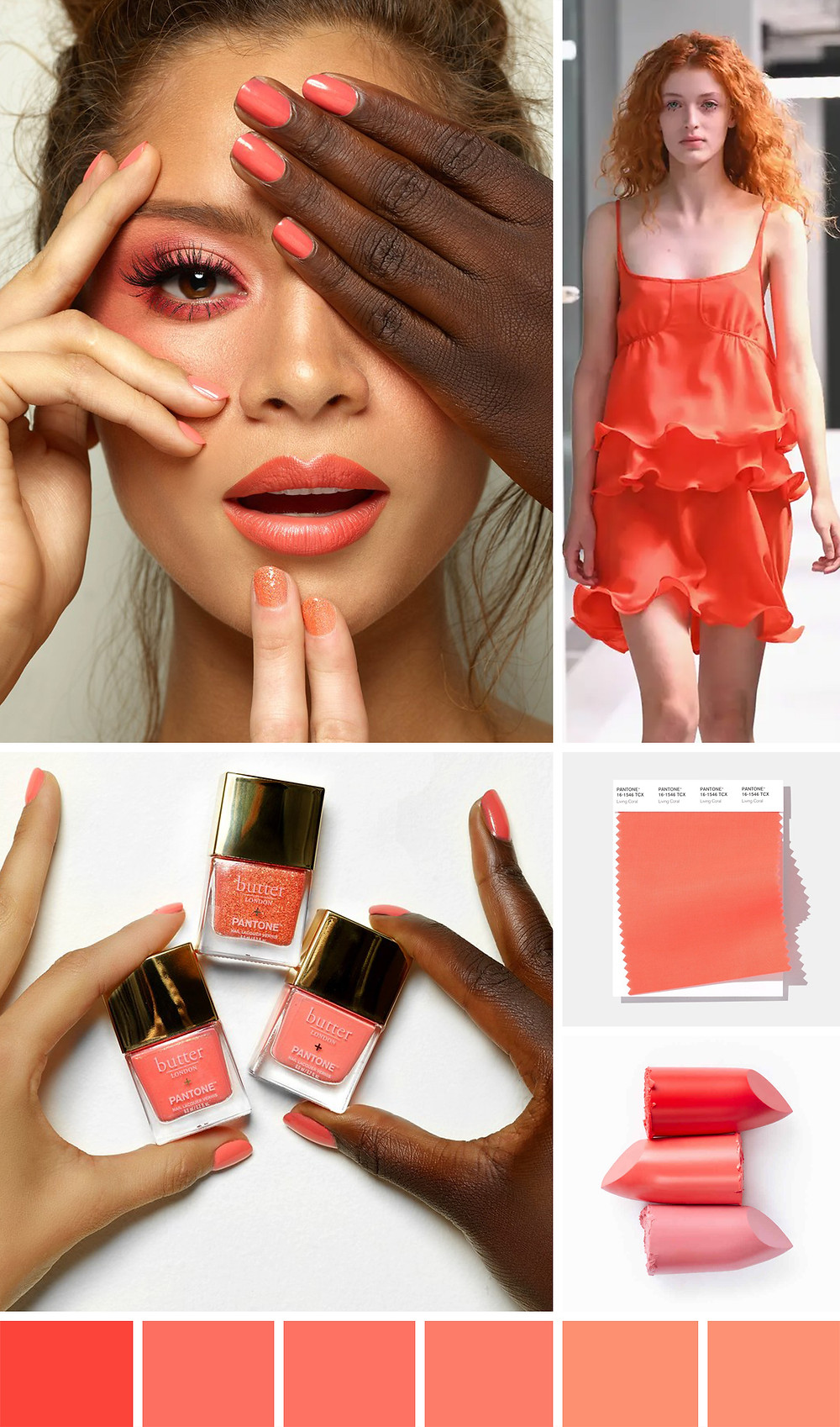 Living Coral in Fashion and Beauty