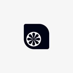 Lemon lime logo icon design