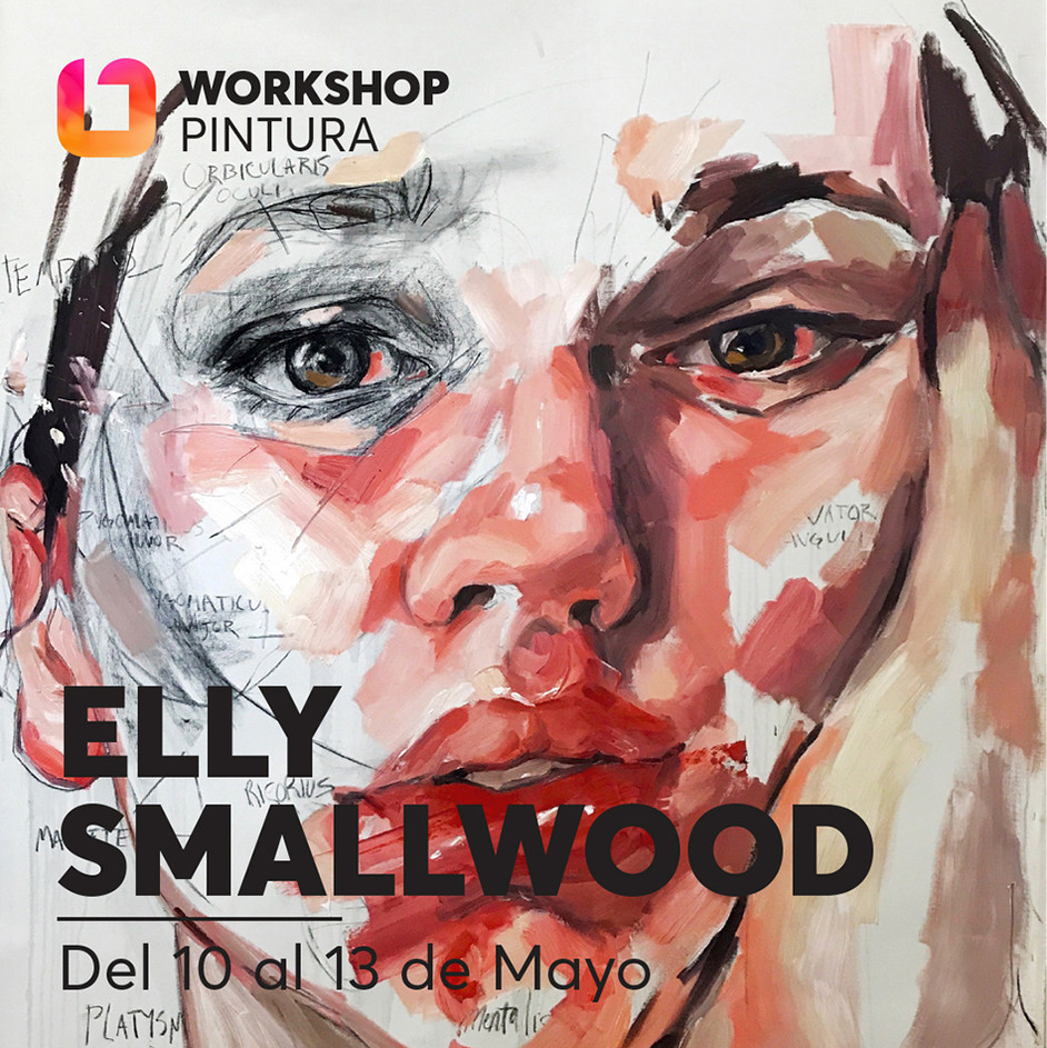 iONA School of Art workshops social media banner design - Elly Smallwood