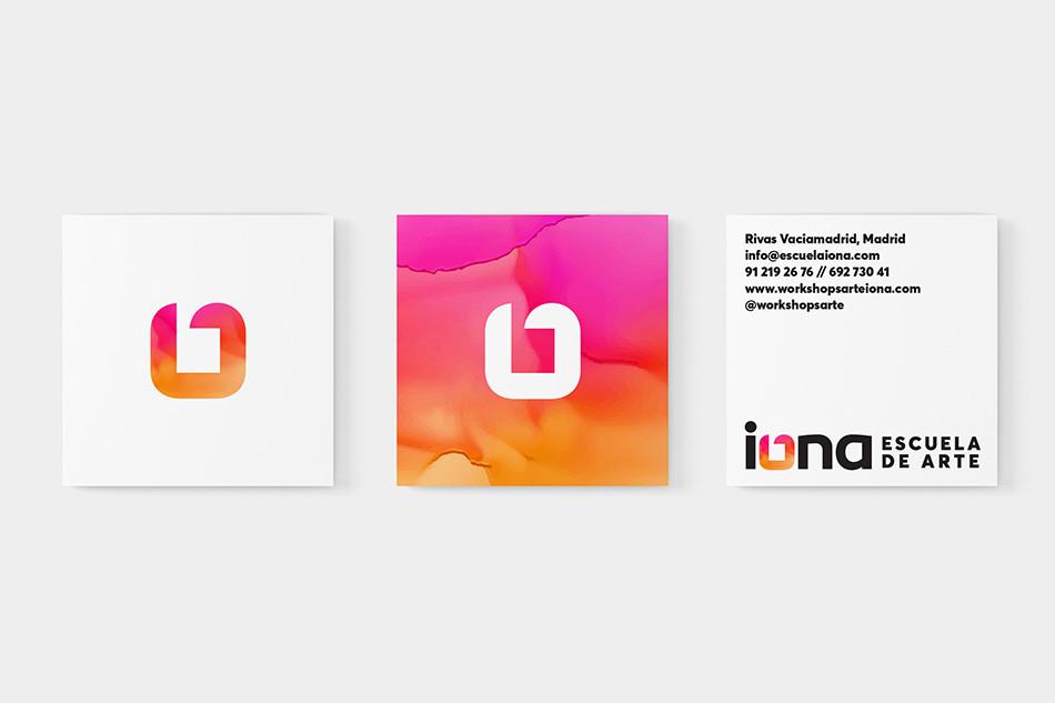iONA School of Art - Brand Identy Design