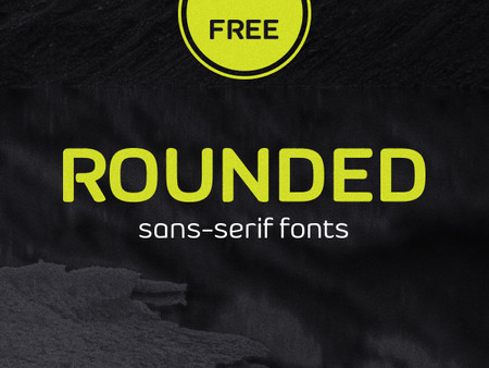 40 Best FREE Rounded Sans-Serif Fonts