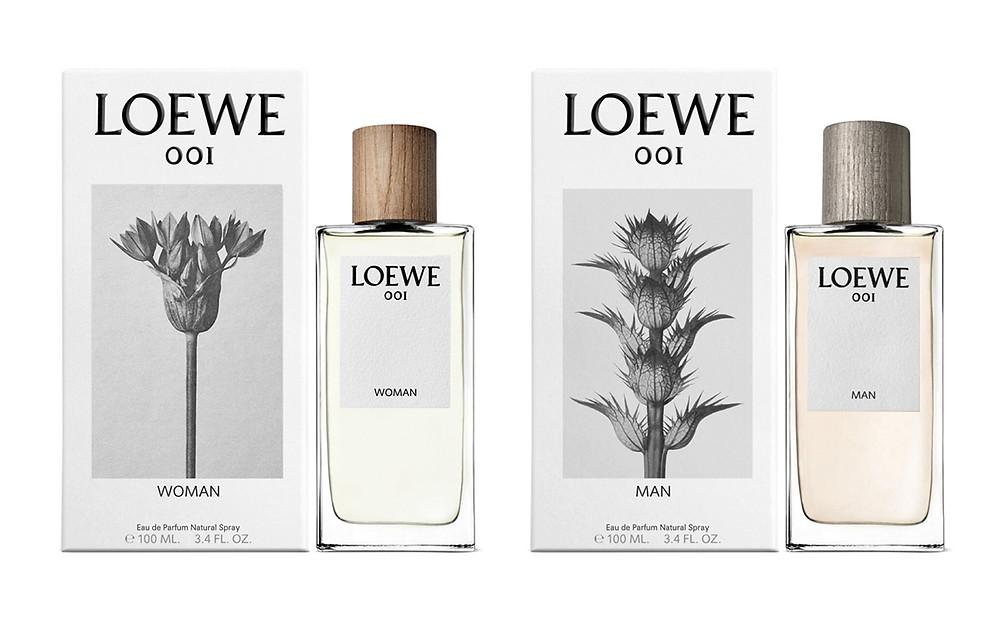 Loewe 001 dual fragrance, man and woman