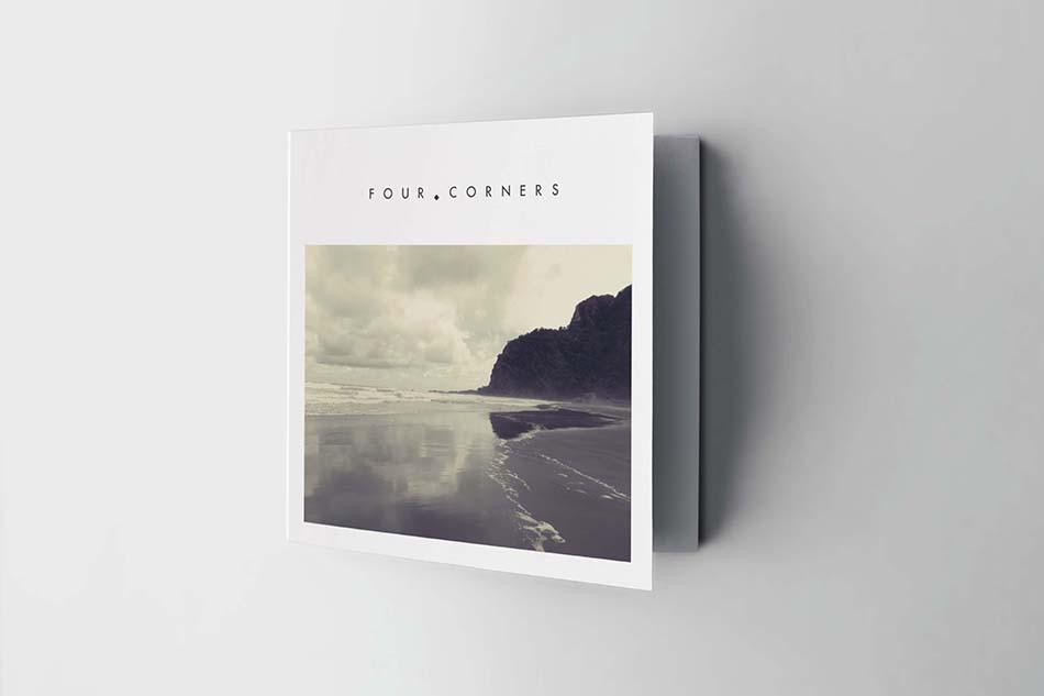 Four Corners Square Brochure Design