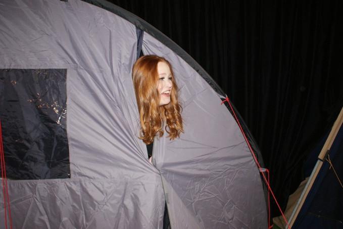 Een stuk op de camping