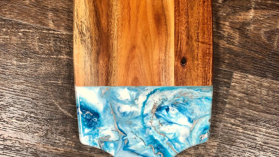 Deep Blue Sea - Acacia Cheeseboard